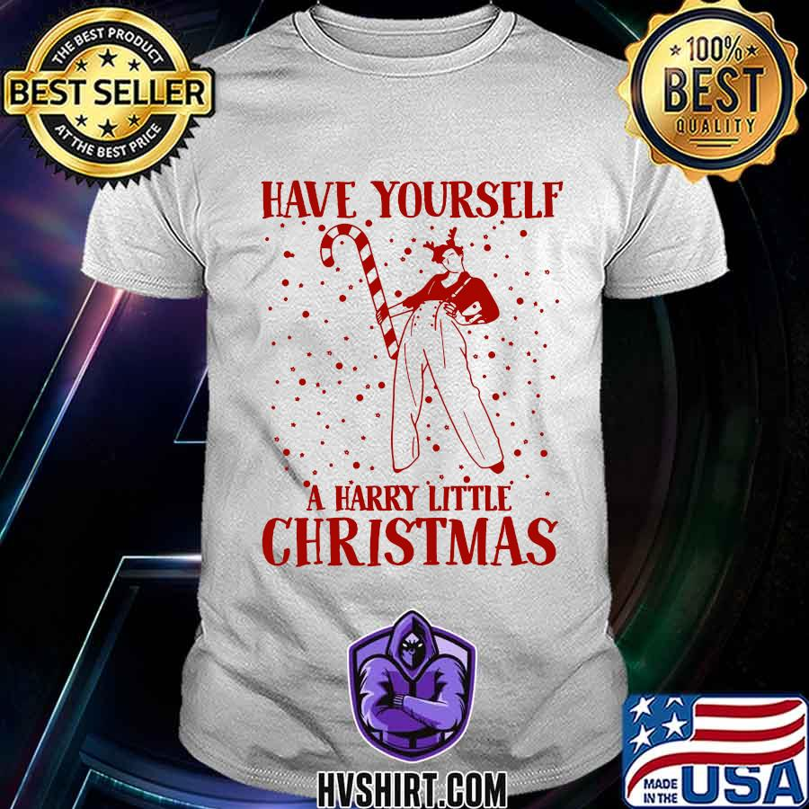 Have yourself a harry little xmas ugly christmas shirt