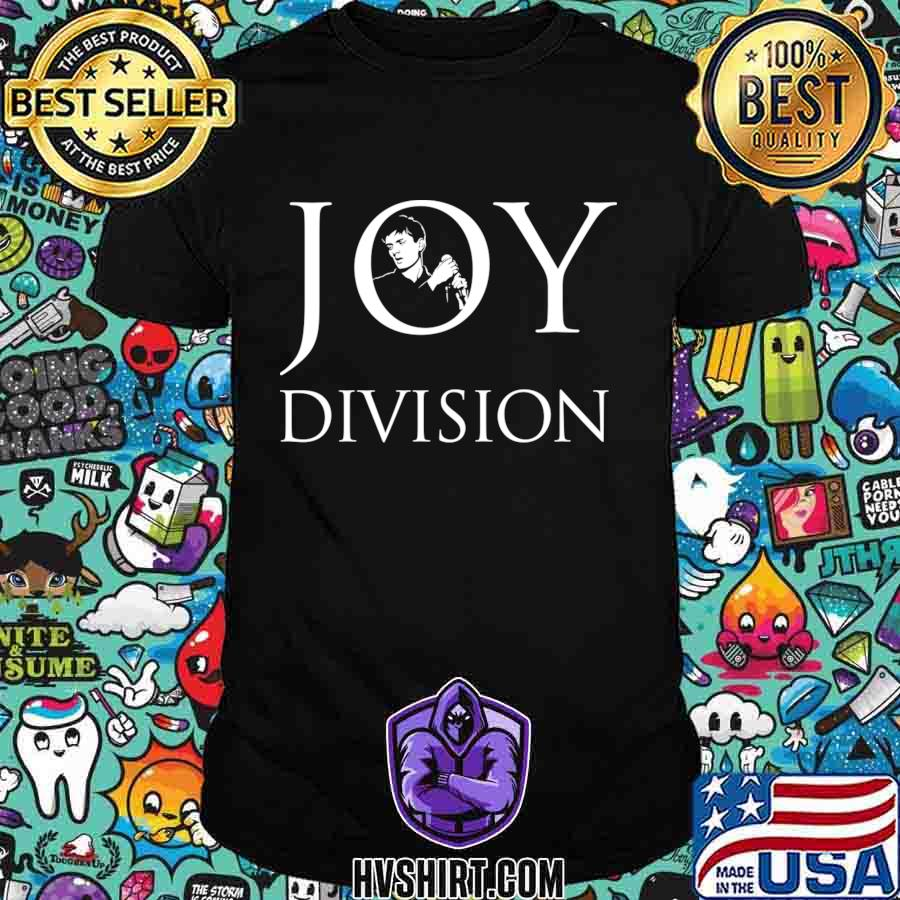Official joy division white 2020 shirt