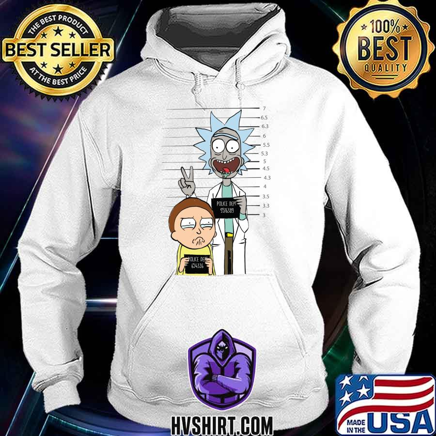 Rick and morty most wanted essential s Hoodie