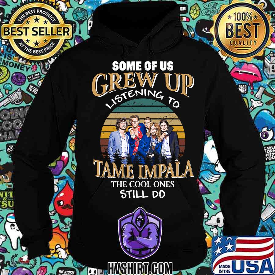 Some of us grew up listening to tame the cool ones stiil do vintage retro s Hoodie