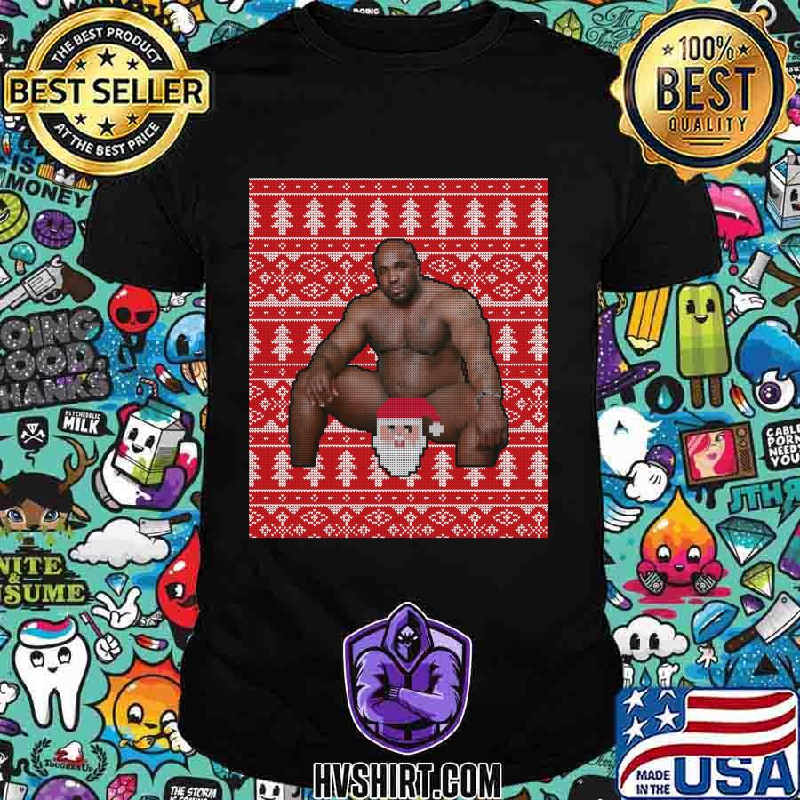 Wood sitting on a bed best meme of 2020 ugly christmas classic shirt