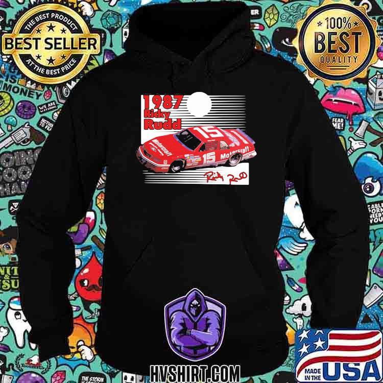 1987 Nascar Ricky Rudd Signature Shirt Hoodie
