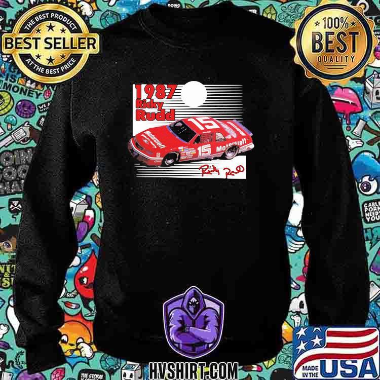 1987 Nascar Ricky Rudd Signature Shirt Sweatshirt