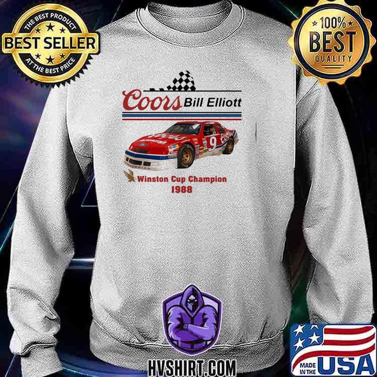 Coors Bill Elliott Winston Cup Champion 1988 Shirt Sweatshirt