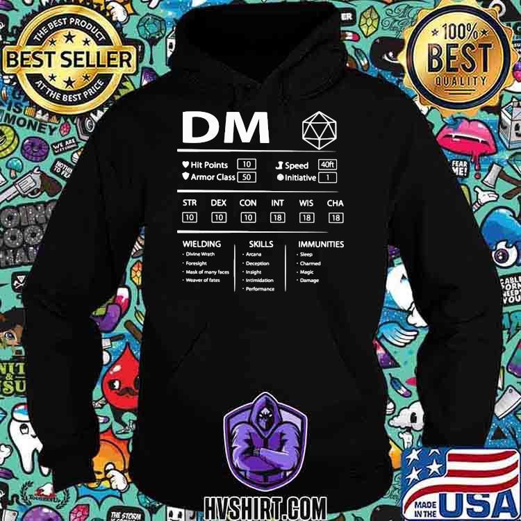 DM Wielding Skills Immunities Shirt Hoodie