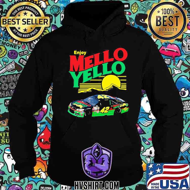 Enjoy Mello Yello Sunset Nascar Kyle Larson Shirt Hoodie