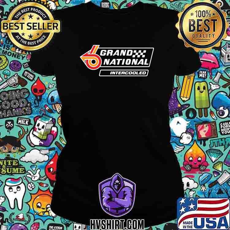 Grand National Intercooled Logo Shirt Ladiestee