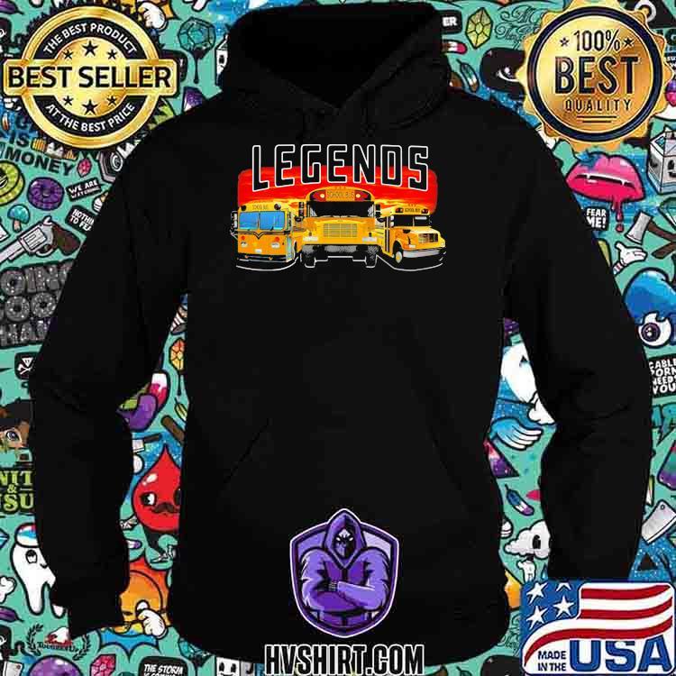 Legends School Bus Shirt Hoodie