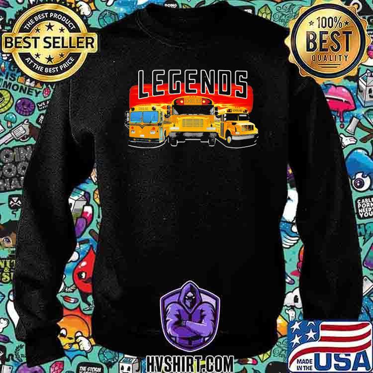 Legends School Bus Shirt Sweatshirt