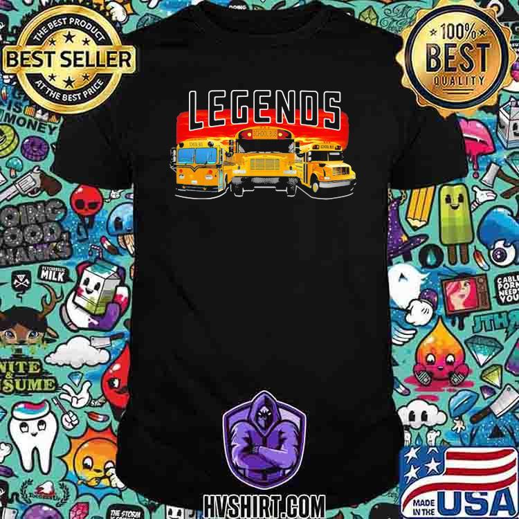 Legends School Bus Shirt