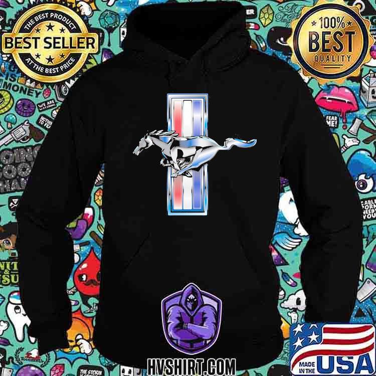 Mustang Logo Shirt Hoodie