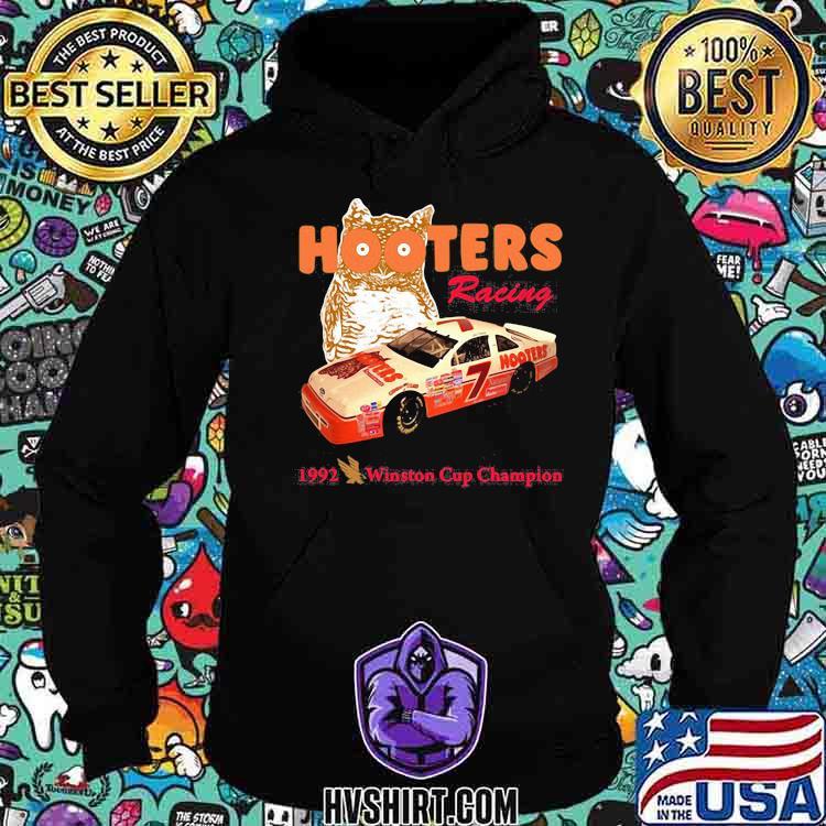Nascar Alan Hooters Racing 1992 Winston Cup Champion Owl Shirt Hoodie