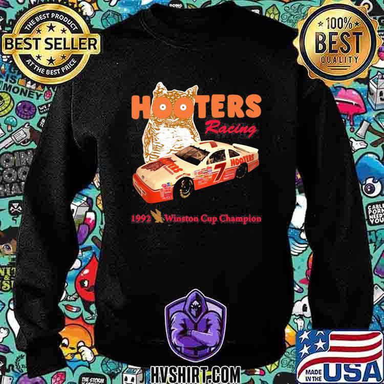 Nascar Alan Hooters Racing 1992 Winston Cup Champion Owl Shirt Sweatshirt