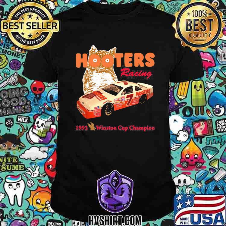 Nascar Alan Hooters Racing 1992 Winston Cup Champion Owl Shirt