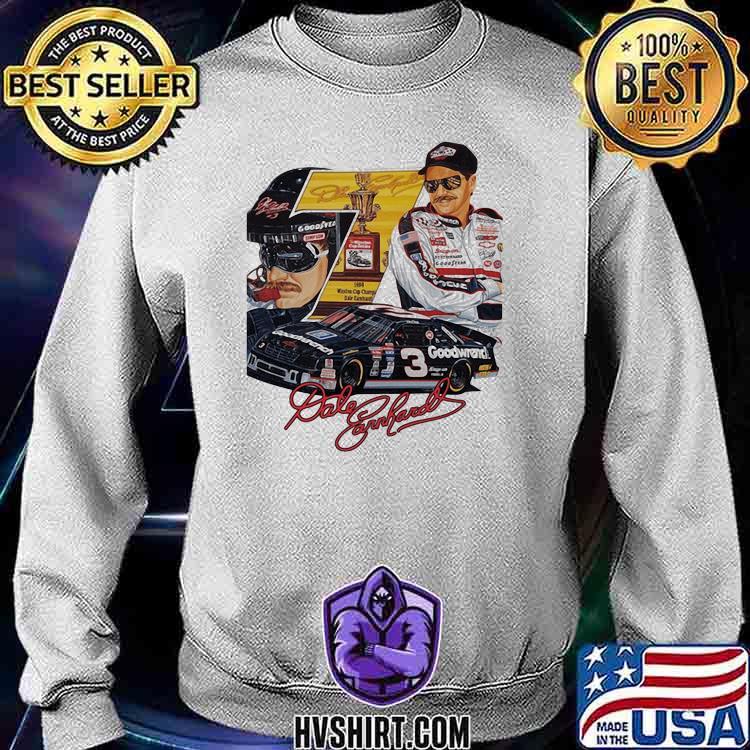 Nascar Dale Earnhardt Signature Shirt Sweatshirt