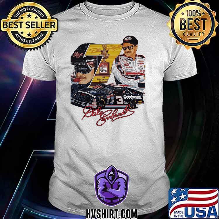 Nascar Dale Earnhardt Signature Shirt