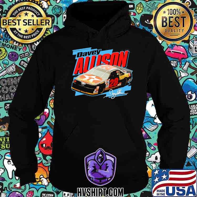 Nascar Davey Allison Signature Shirt Hoodie