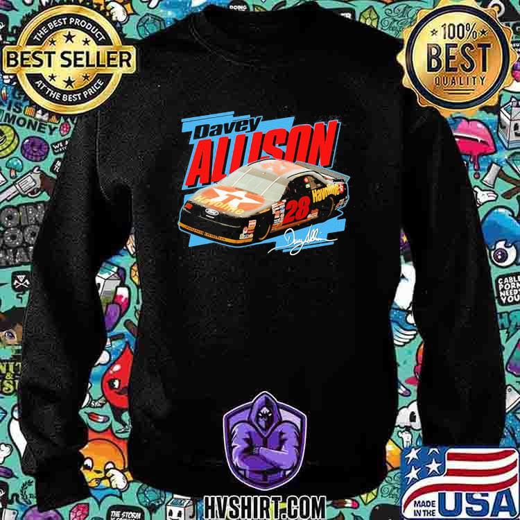 Nascar Davey Allison Signature Shirt Sweatshirt