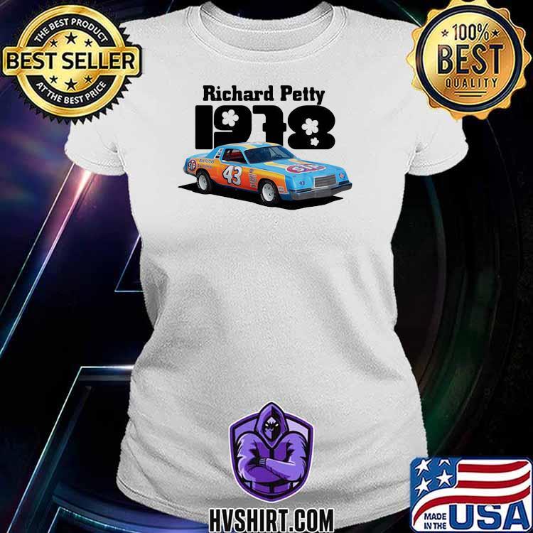 Nascar Richard Petty 1978 Shirt Ladiestee