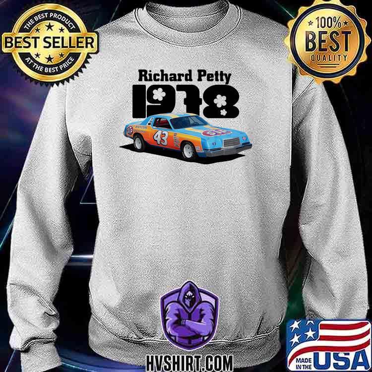 Nascar Richard Petty 1978 Shirt Sweatshirt