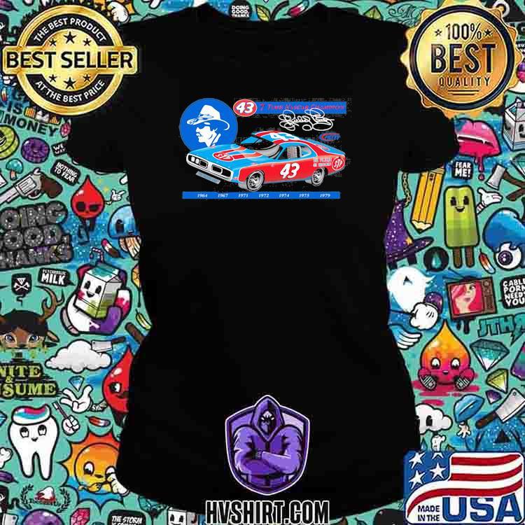 Nascar Richard Petty Since 7 Time Champion 1969 Shirt Ladiestee
