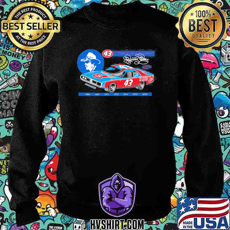 Nascar Richard Petty Since 7 Time Champion 1969 Shirt Sweatshirt