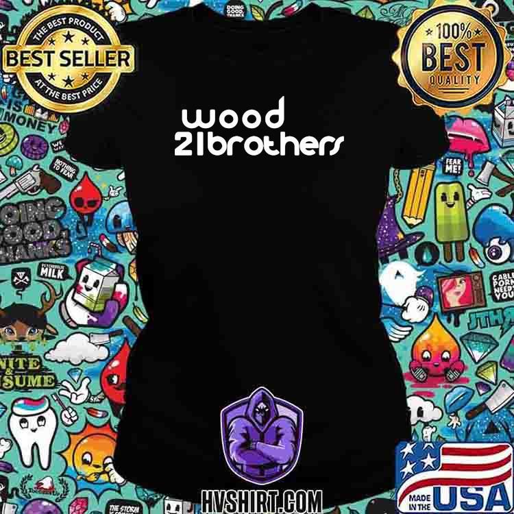 Nascar Ryan Blaney Wood 21brothers Shirt Ladiestee
