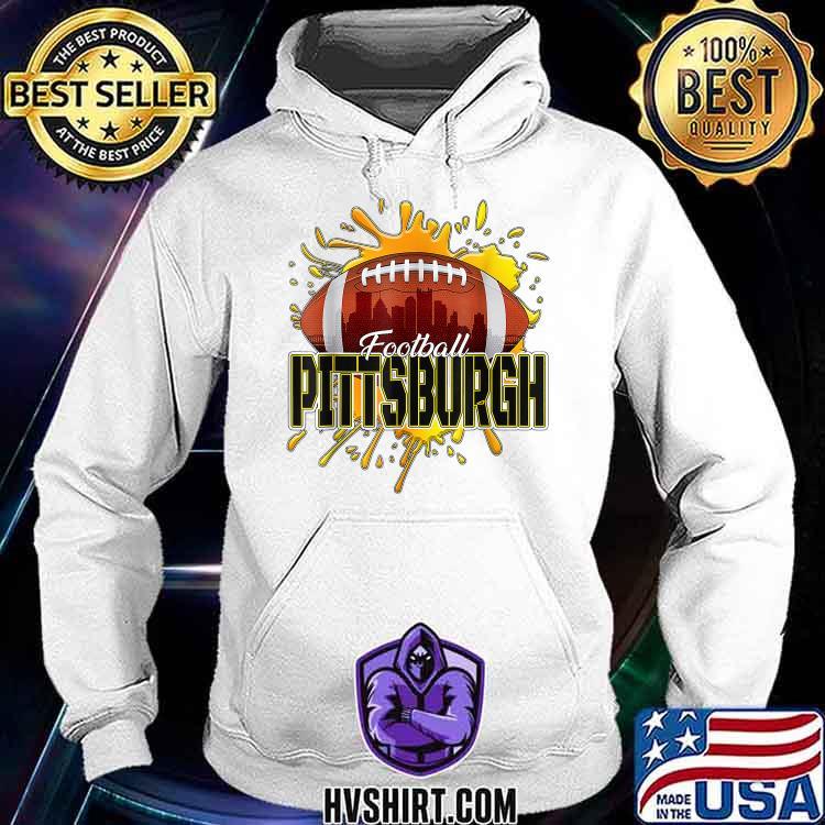 Pittsburgh Football Tee Retro Vintage Pennsylvania Steeler Shirt Hoodie