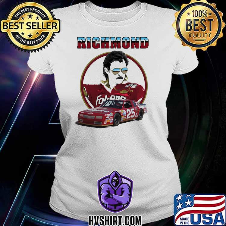Richmond Folgers Nascar Shirt Ladiestee