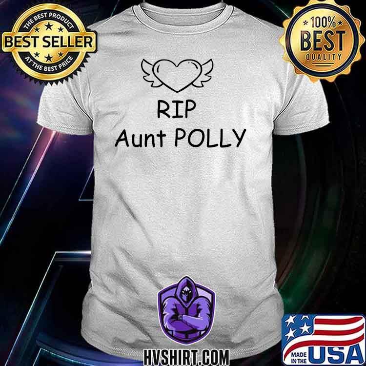 Rip Aunt Polly Helen Mccrory Heart Shirt