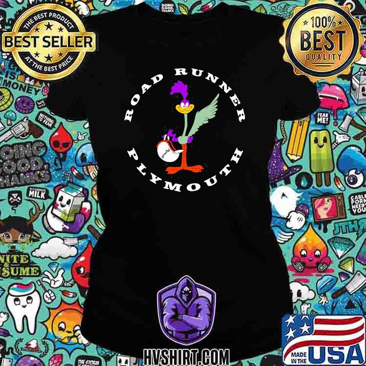 Road Runner Plymouth Chicken Logo Shirt Ladiestee
