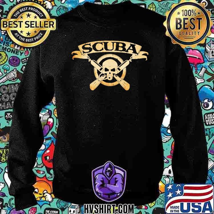 Scuba Diving Scuba Skull Shirt Sweatshirt