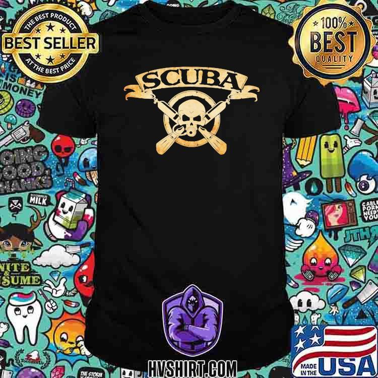 Scuba Diving Scuba Skull Shirt