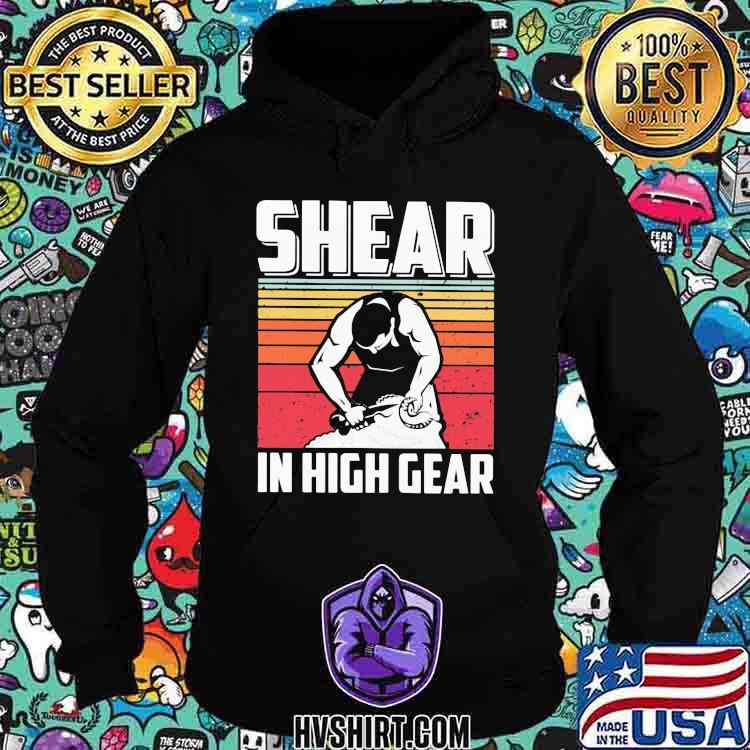 Shear In High Gear Vintage Hoodie