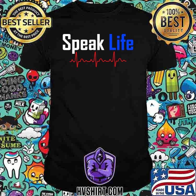 Speak Life Heart Beast Shirt