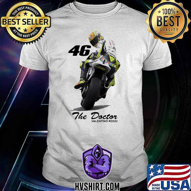 The Doctor Valentine Rossi 46 Shirt