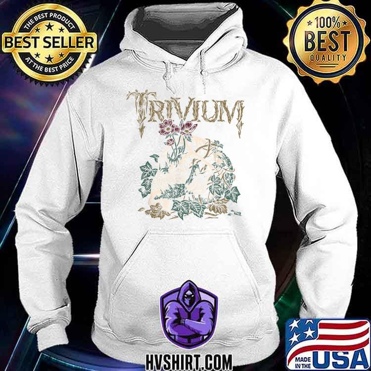 Trivium Skelly Flower Shirt Hoodie