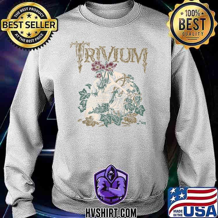Trivium Skelly Flower Shirt Sweatshirt