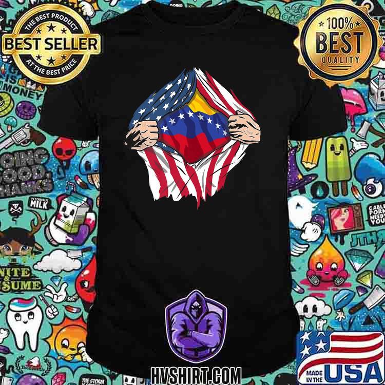 Venezuela Premium American Flag Shirt