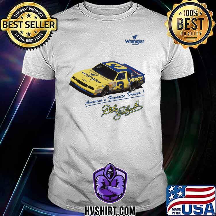 Wrangler America's Favorite Driver Signature Shirt