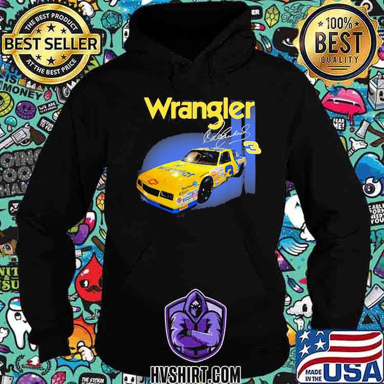 Wrangler Jeans Dale Earnhardt Nascar The Intimidator Shirt Hoodie
