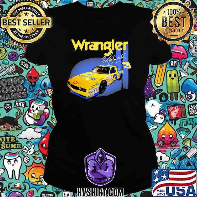 Wrangler Jeans Dale Earnhardt Nascar The Intimidator Shirt Ladiestee