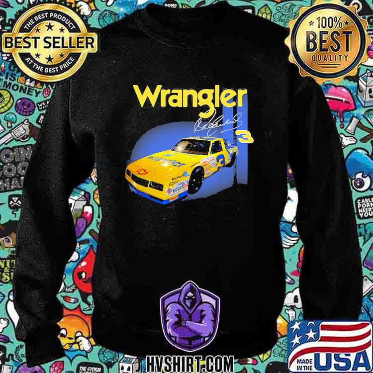 Wrangler Jeans Dale Earnhardt Nascar The Intimidator Shirt Sweatshirt