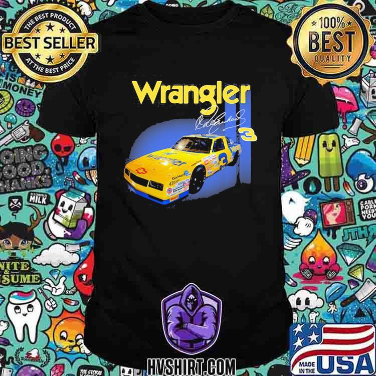 Wrangler Jeans Dale Earnhardt Nascar The Intimidator Shirt