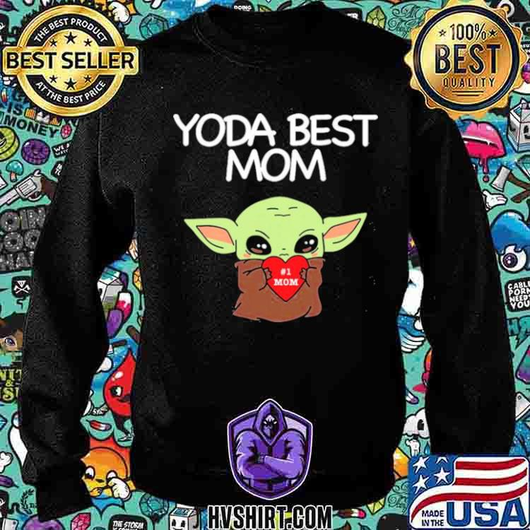 Yoda Best Mom Sweatshirt