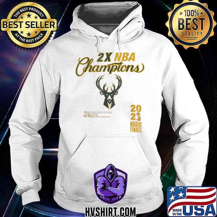 2X NBA Buck championship 2021 T-Shirt Hoodie