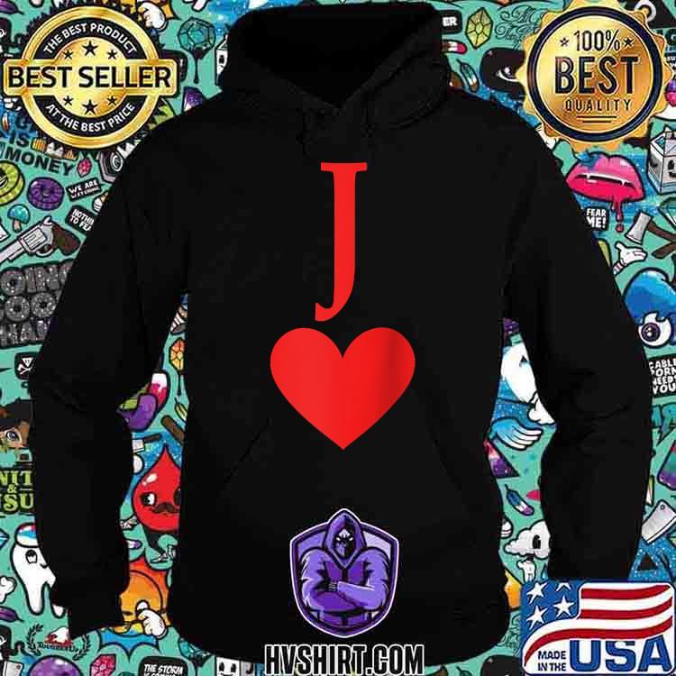 A Jack Hearts Card T-Shirt Hoodie
