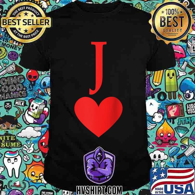 A Jack Hearts Card T-Shirt